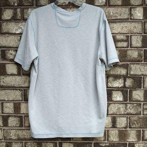 Tommy Bahama Shirts - Tommy Bahama men's size medium light gray t-shirt